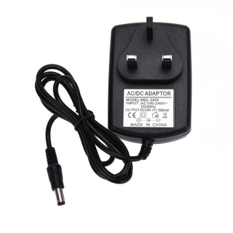 DC24V 0.5A Adapter AC 100V-240V to DC 24V Power SupplyAdapter(Black)-UK Plug - intl