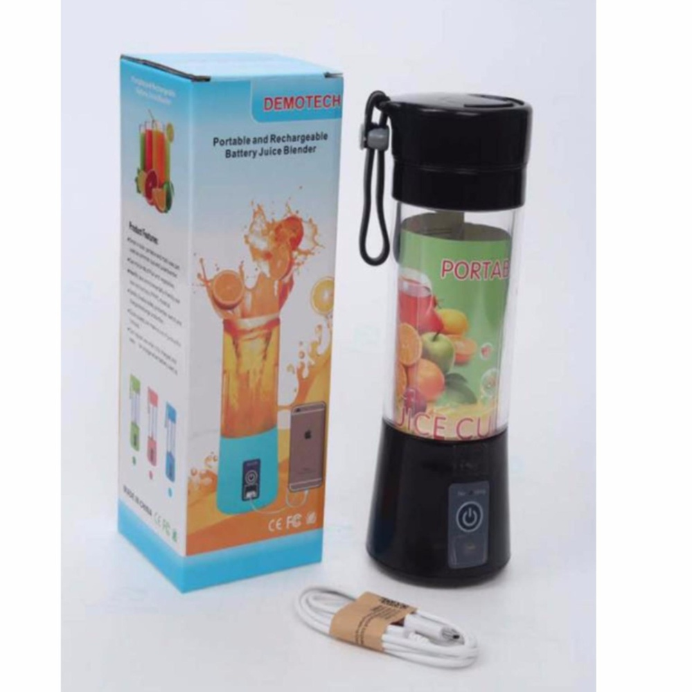 Philippines Dem Portable Rechargeable Usb Fruit Juicer Powerbank Battery