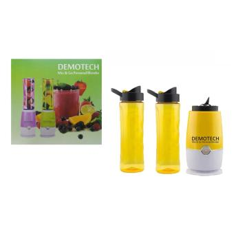 Demotech Mix & Go Personal Blender (Yellow) Price Philippines