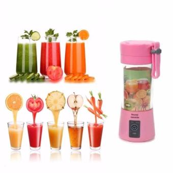 Demotech Portable Rechargeable USB Fruit Juicer + Powerbank 380mL Price Philippines