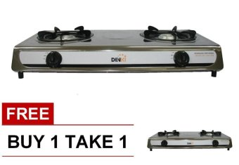 Denki DGS-208 Gas Stove Double Burner BUY 1 TAKE 1