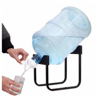 Detachable Bracket Bottled Water Water Dispenser Drinking BucketMineral Water Folding Rack (Black) - 2