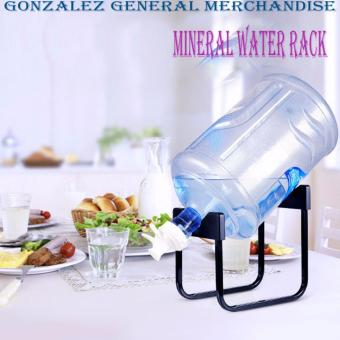 Detachable Bracket Mineral Water Rack (Black) Price Philippines