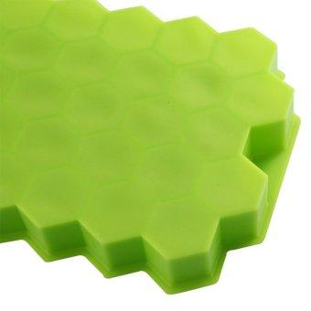 DIY Ice Cream Tools Molds Yogurt Ice Box 37 Ice Cubes Honeycomb Ice Cream Maker Form Pops Mould Popsicle Fridge- White - intl - 5