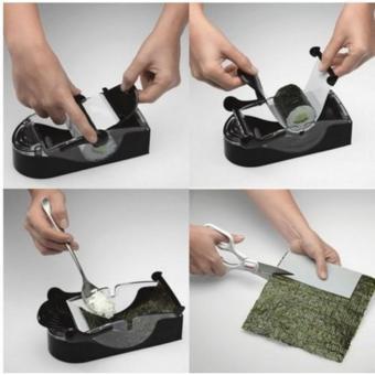 DIY Japanese Rice Mold Machine Homemade Sushi Roll Maker - 3