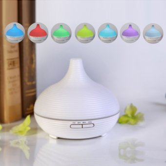 DT-1515 300mL Household Office Humidifier Ultrasonic Essential oil Diffuser /Waterless Auto Shut-off function /7 Colors LED Aromatherapy (Intl) - picture 2