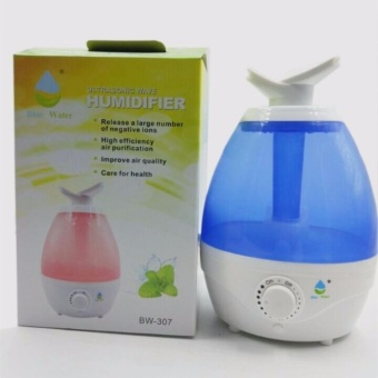 Dual Nozzle Evaporative Air Humidifier Fashion Appearance With Free Aroma Scent Oil BW307