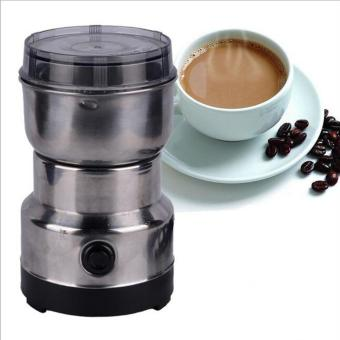 Electric Coffee Beans Grinder Coffee Maker Nuts Mill Stainless Steel Grinding Bean Nut Spice Herbs - intl