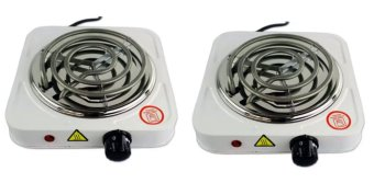 Electric Cooking Stove Single Hot Plate (White) Price Philippines
