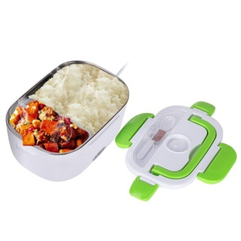 Electric Lunch Box Food Heater Portable Lunch Heater with RemovableStainless Steel Container Food Grade Material - intl
