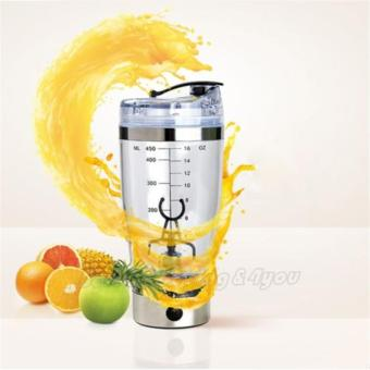 Electric Protein Shaker Blender My Water Bottle Automatic MovementVortex Tornado 450ml Bpa Free Detachable Smart Mixer Cup - 3
