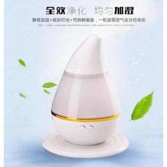 Electric Ultrasound Atomization Diffuser Cool Mist Humidifier(White) - 3