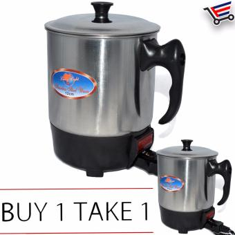 Electronic Water Coffe Boiler Heater Cup Buy 1 Take 1