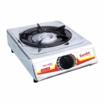 Eureka EGS-SB Single Burner Gas Stove (Silver)