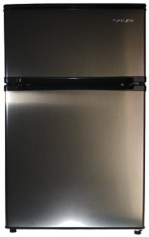 EZY ES-88F Refrigerator 3.2 cu.ft. (Stainless Gray)
