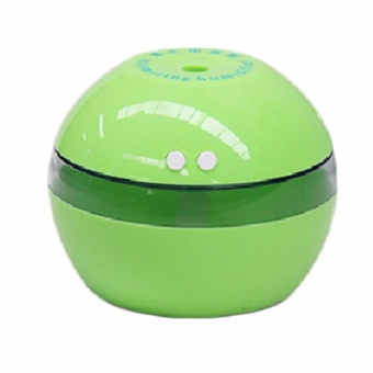 Fancyqube Creative Ultrasonic Humidifier Mini USB Air HumidifierPortable Aromatherapy Machine Green - intl Price Philippines