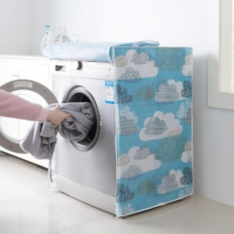FFY Waterproof Washer/Dryer Cover Dustproof Washing Machine CoverFor Front-Load B - intl