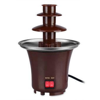 Fondue Mini Chocolate Fountain (Brown)