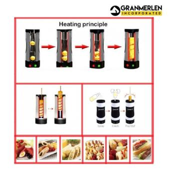 For Quickly Prepare Egg Master Vertical Grill - 3
