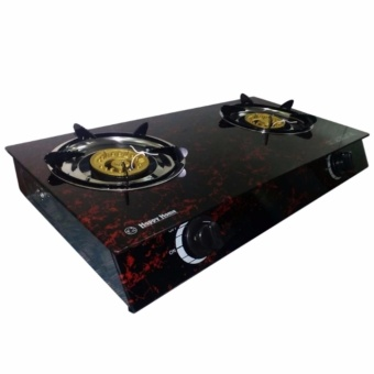 Glass Top Double Burner Gas Stove (Color May Vary) Price Philippines