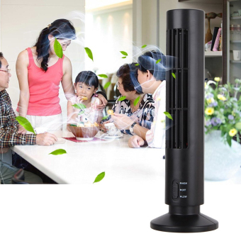GMY 2-Speed USB Tower Fan (Black) - 4