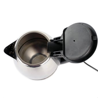 GMY Scarlett Wireless Electrical Kettle 1.8L (Silver) with ScarlettKD-113 Electric Egg Mixer (White) - 4