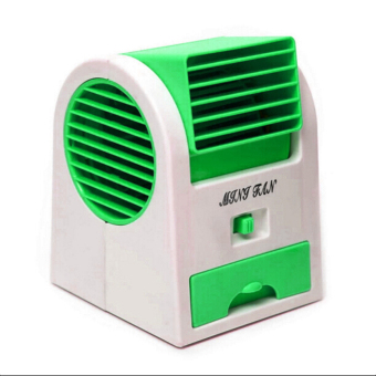 GMY USB Mini Air Conditioning Fan Cooler (Green)