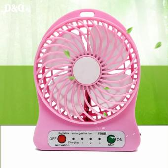 Greatnes SG-F-95B Chargeable Mini USB Fan (Pink) Price Philippines