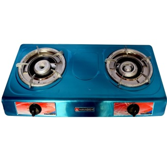 Hanabishi G-8010 Double Burner Gas Stove (BLUE) - picture 2