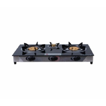 Hanabishi Ggs-300 3-Burner Gas Stove with Free Peri Bamboo CharcoalSoap Price Philippines