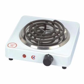 Hot Plate Single Electric Stove (White)