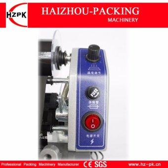 HZPK Coding Machine Hand Pressure Color Ribbon Hot Printing Machine Plastic Production Date Number Code Date Printer DY-8 - intl - 4