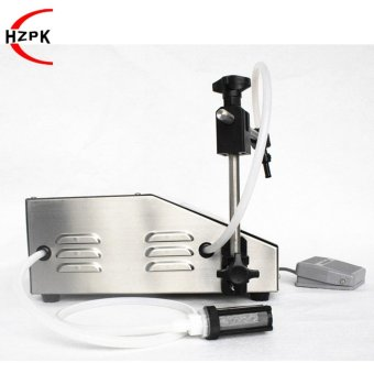 HZPK Digital Control Automatic Liquid Filling Small PortableElectric Water Liquid Filler Food Processor IndustrialPacker(HZK-160) - intl - 2