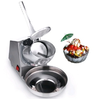 Ice Smashing Electric Crusher Machine (Silver) - picture 2