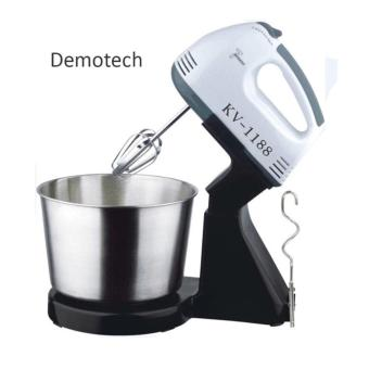 Harga Demotech 7 Speed Stand Mixer with Bowl Stainless