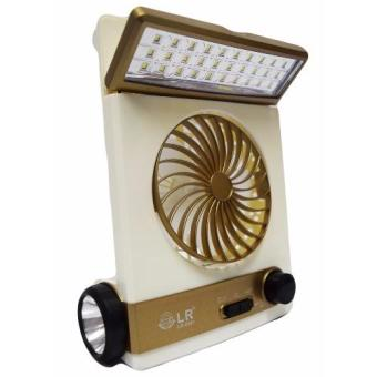 Harga FA LR-5591 Solar Light Fan