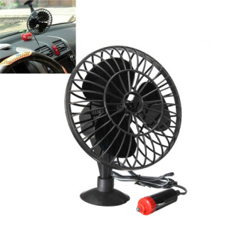Harga 12V Powered Mini Car Truck Vehicle Cooling Air Fan Adsorption Summer Gift