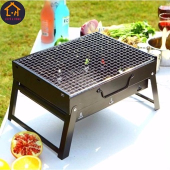 HOT DEALS FOR SUMMER LARGE Barbecue Grill Pit (Black) Price Philippines