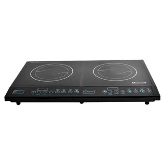 Harga Dowell IC 21TC Double Hotplate Induction Cooker (Black)