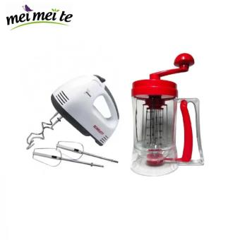 Electric Egg Mixer (White) with Free Pancake Machine Price Philippines