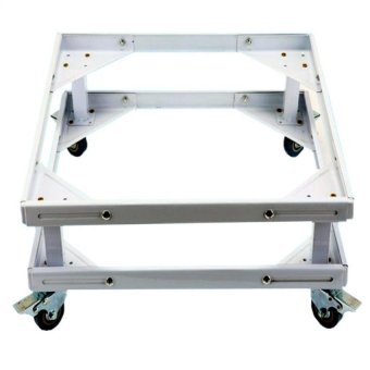 Harga Prostar Lifted Refrigerator Base / Washing Machine Base / Range Oven Stand Dura Base Adjustable with Wheels (White)