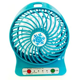 Harga PORTABLE MULTIFUNCTIONAL FAN RECHARGEABLE ( MINI FAN )