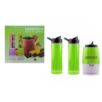 Harga Demotech Mix & Go Personal Blender (Green)