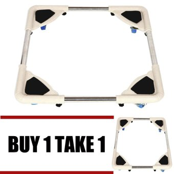 Harga Prostar Dura Base Stand for Refrigerator / Washing Machine / Cooking Oven (White) Buy 1 Take 1
