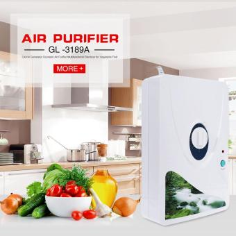 Harga Vegetable Fruit Purify Air Purifier Portable Ozone Sterilizer Air Purifier with EU Plug - intl