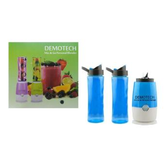 Harga Demotech Mix & Go Personal Blender (Blue)