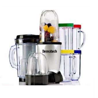 Harga Demotech DMFMS01 Multi-Functional Food Processor And Mixer System (Multicolor)