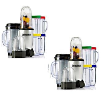 Harga Demotech 21 Piece Multi-Functional Blender/Food Processor/Mixer(Set of 2)