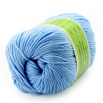 Fantasy 6pc Knitting Wool Yarn – Blue Price Philippines