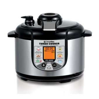 Imarflex IPC-600D Turbo Cooker 6L (Stainless/Black) Price Philippines